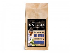 KAWA ZIARNISTA ARABICA 100% CAFE 44 KOLUMBIA 1KG